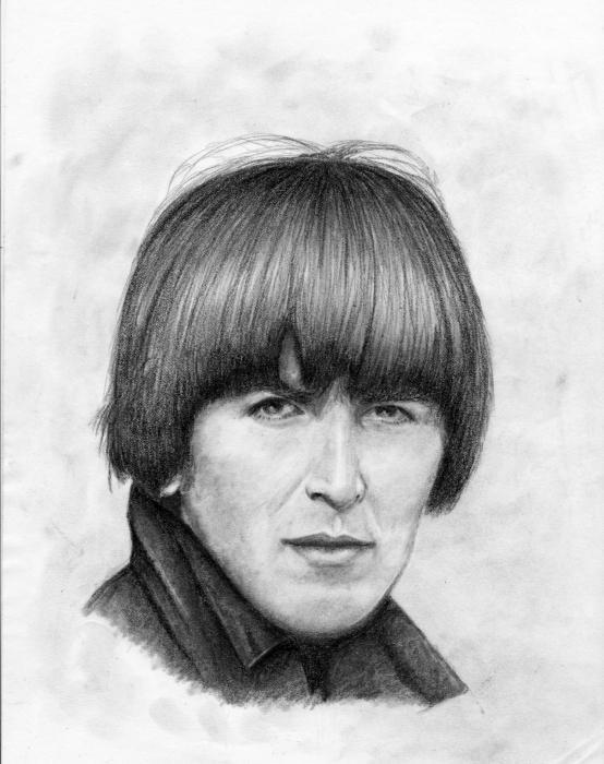 George Harrison por Flocon